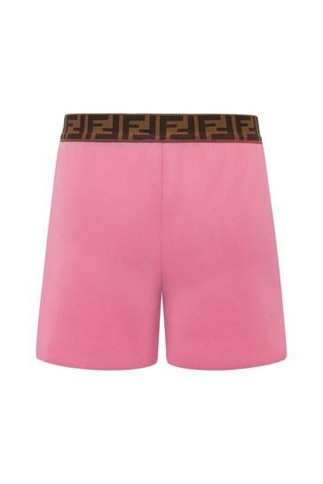 Baby Girls Pink Shorts