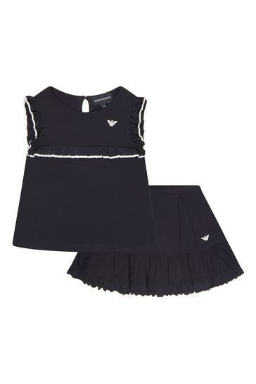 Girls Navy Outfit