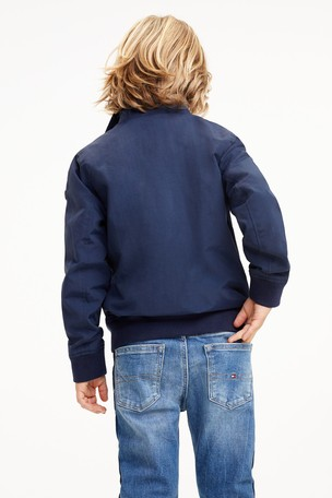 Buy Tommy Hilfiger Blue Essential Bomber Jacket from Next