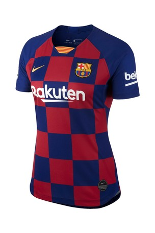 wholesale dealer bf6a3 db3cc Buy Nike Navy FC Barcelona 2019/2020 Women's Fit Home Jersey ...
