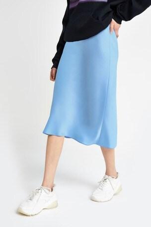 new release classcic men/man Buy River Island Light Blue Bias Cut Skirt from Next Ireland