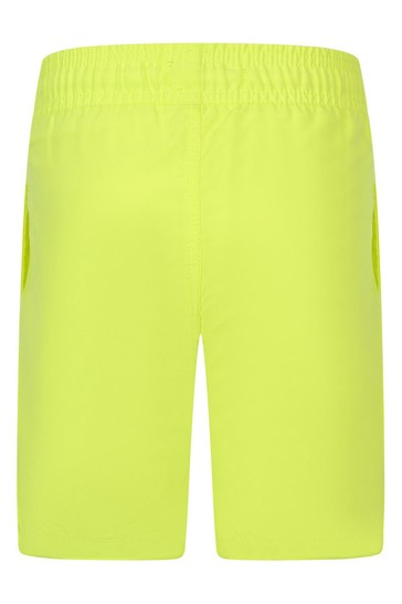 Boys Lime Logo Swim Shorts