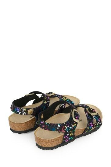 Birkenstock® Girls Black Rio Sandals