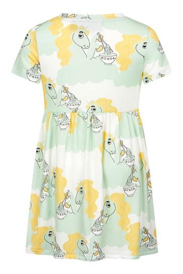 Mini Rodini Girls Green Dress