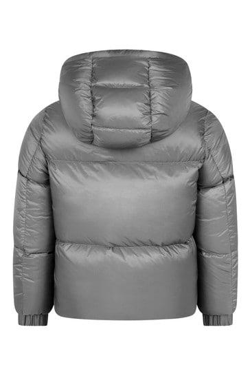 소년 그레이 다운 패딩 글렙 재킷