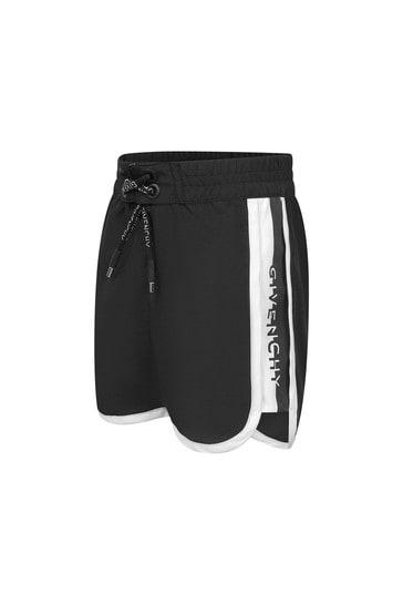 Baby Boys Black Swim Shorts
