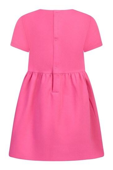 Baby Pink Cotton Dress