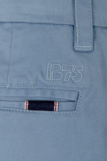 Boys Blue Cotton Trousers