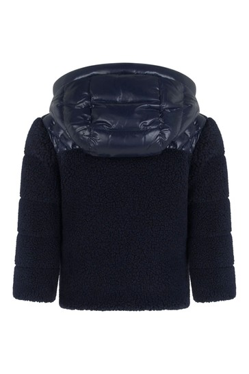 Baby Navy Double Fabric Ounce Jacket