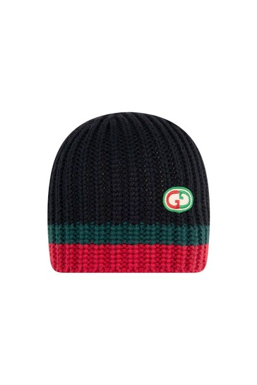 Baby Black Knitted Hat