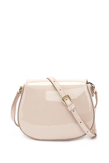 Girls Pink Leather Bag