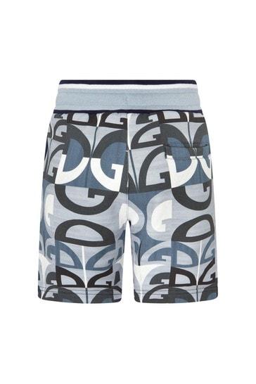 Dolce & Gabbana Boys Blue Cotton Shorts