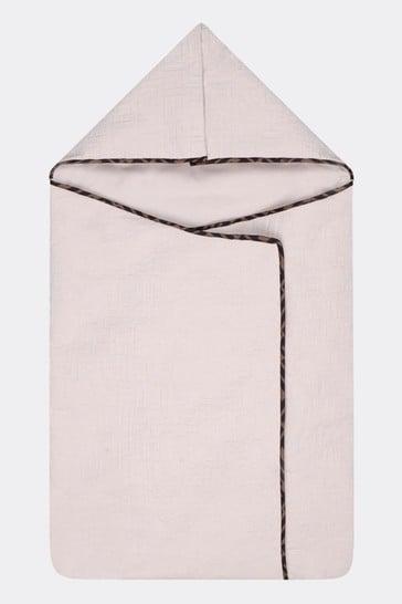 Baby Beige Cotton Logo Nest