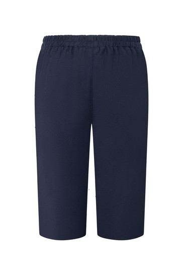 Baby Boys Navy Woollen Trousers