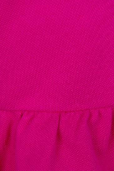 Girls Purple Cotton Skirt