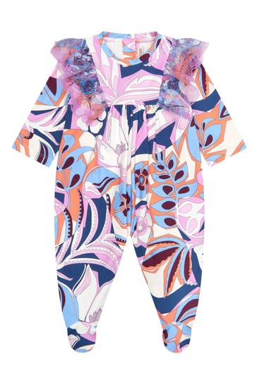 Baby Girls Purple Cotton Gift Set