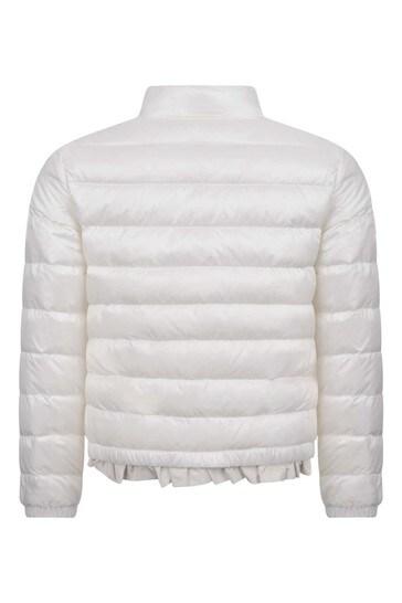 Girls Ivory Down Padded Violette Jacket