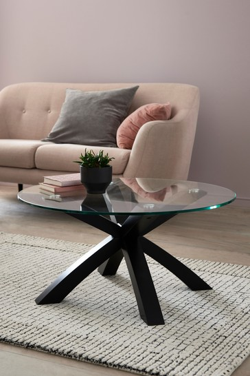 Buy Oak And Glass Coffee Table From The Next Uk Online Shop