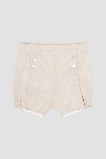 Baby Boys Beige Shorts