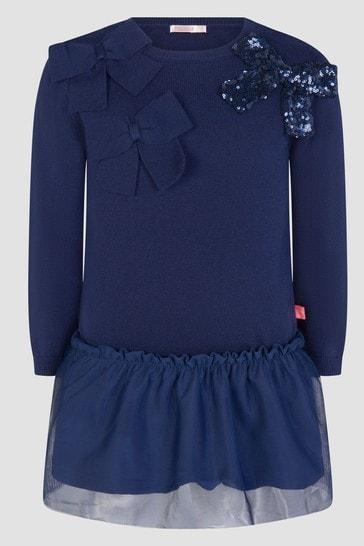 Billieblush Girls Navy Dress