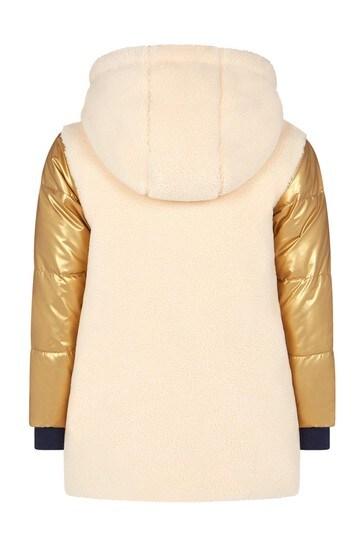 Girls Beige Coat