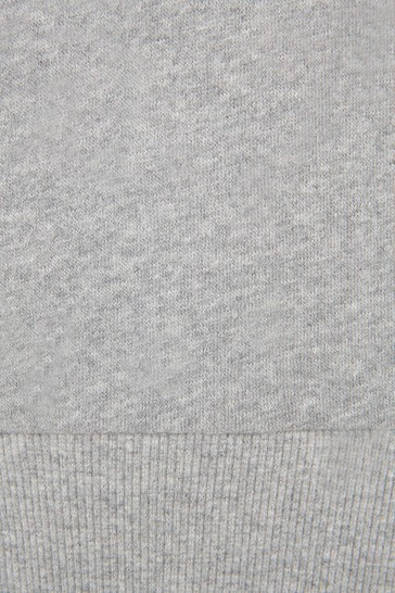 Girls Grey Sweat Top