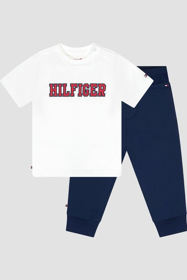 Tommy Hilfiger Baby Boys Navy Joggers