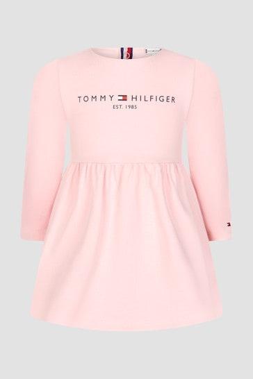 Tommy Hilfiger Baby Girls Pink Dress