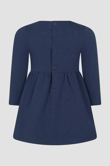 Tommy Hilfiger Baby Girls Navy Dress