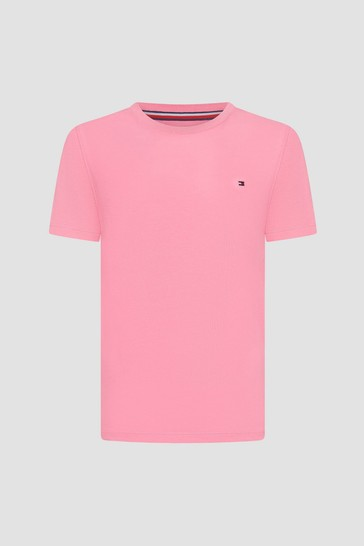 Tommy Hilfiger Boys Pink T-Shirt