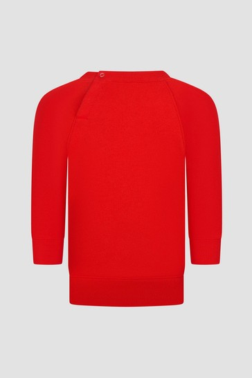 Baby Red Sweat Top