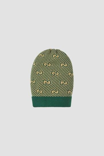 Boys Green Hat