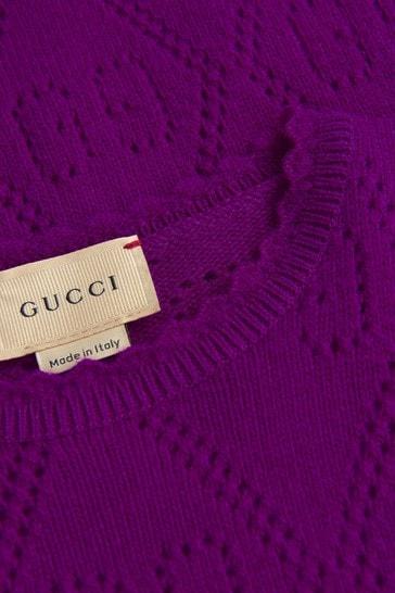Girls Purple Jumper