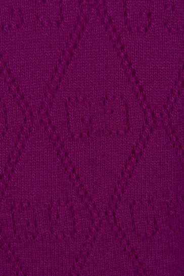 Baby Girls Purple Jumper