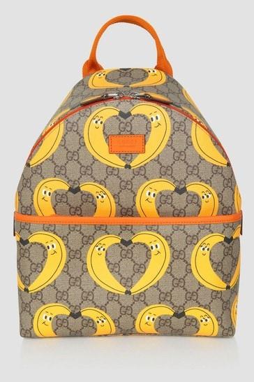Kids Beige Backpack