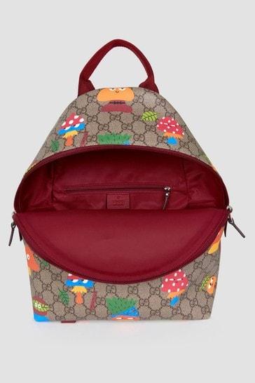 Unisex Beige Backpack