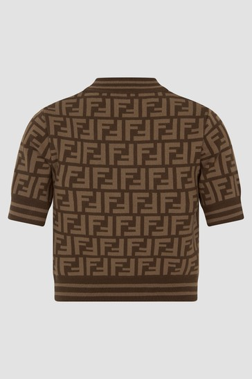Girls Brown T-Shirt