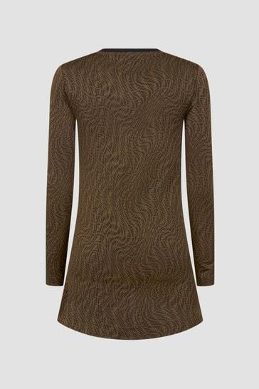 Girls Brown Dress