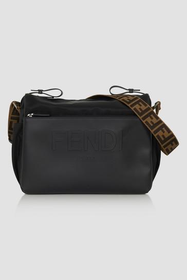 Fendi Baby Black Changing Bag