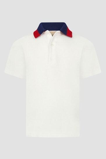 Cream Polo Shirt