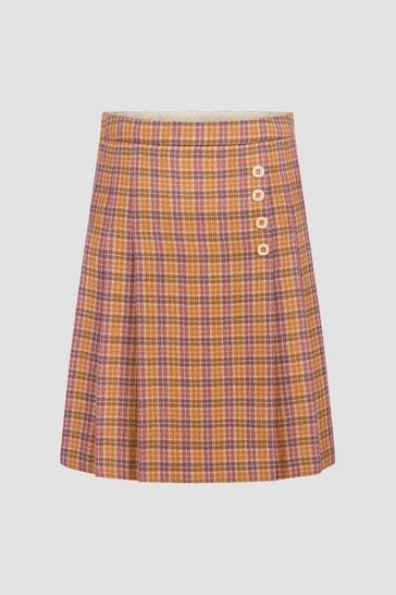 Girls Orange Skirt