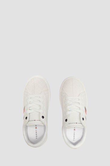 Boys White Trainers