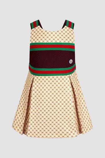 Baby Girls Beige Dress