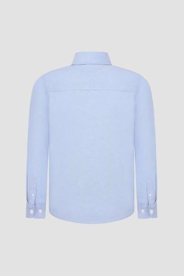 Tommy Hilfiger Boys Blue Shirt