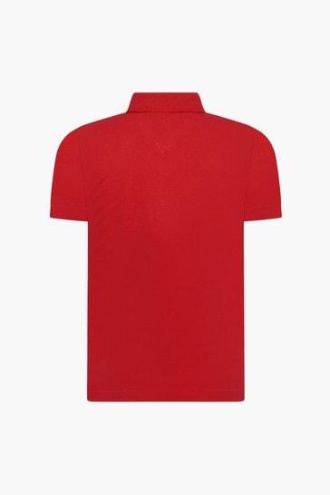 Boys Red Polo Shirt