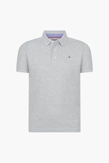 Boys Grey Polo Shirt