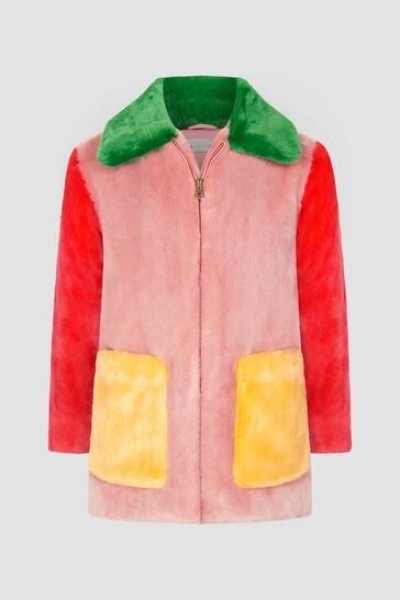 Girls Multi Coat
