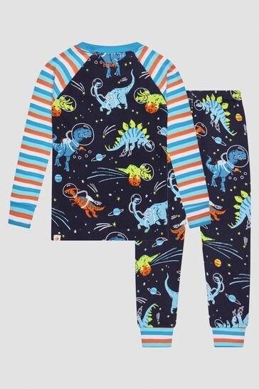 Boys Navy Pyjamas
