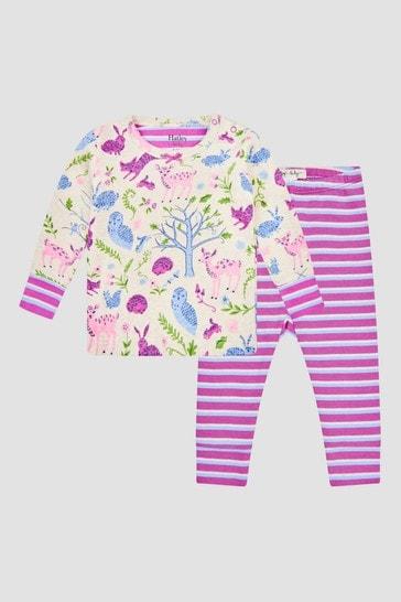 Baby Girls Purple Pyjamas