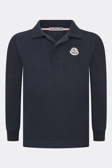 Boys Branded Collar Polo Shirt